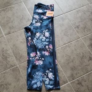 Joy Lab NWT Floral Pants 7/8 Length